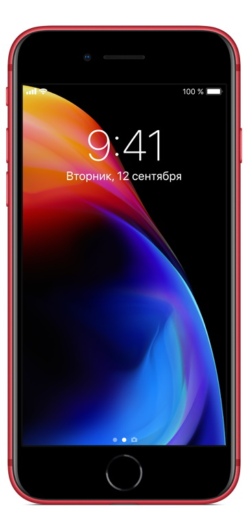 iPhone 8 256Gb PRODUCT(RED) экран