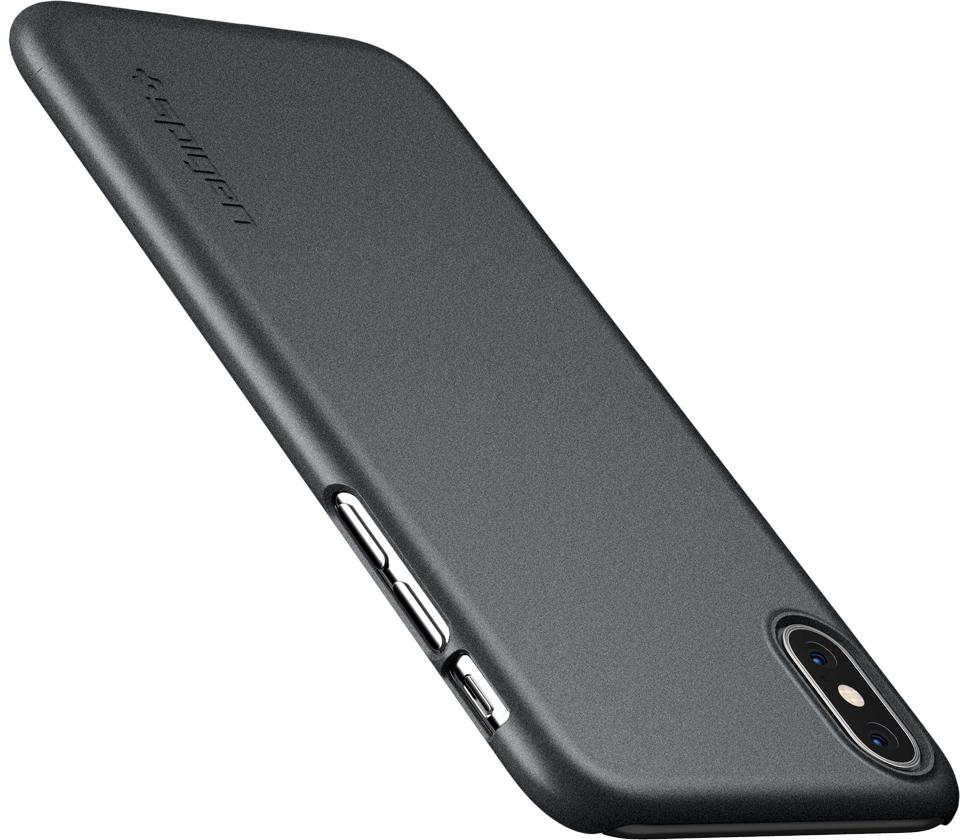 Чехол Spigen Thin Fit (063CS24905) для iPhone X/Xs (Graphite Gray)