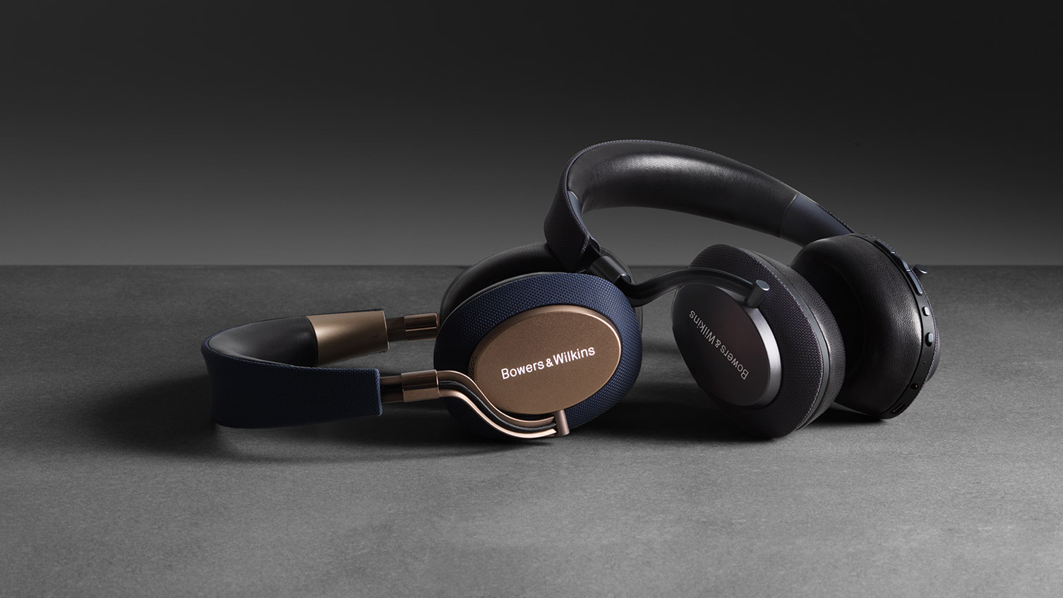 Bluetooth-наушники Bowers & Wilkins PX с микрофоном (Soft Gold)