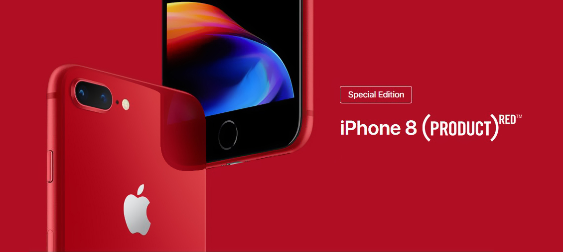 iPhone 8 256Gb PRODUCT(RED) баннер PRODUCT(RED)