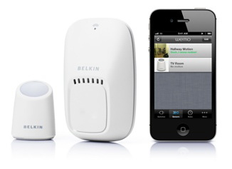 Адаптер-пульт ДУ Belkin WeMo Switch and Motion для iPhone