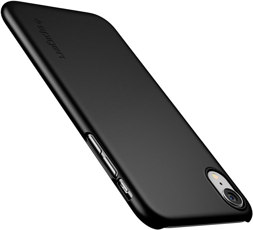 Чехол Spigen Thin Fit (064CS24864) для iPhone XR (Black)