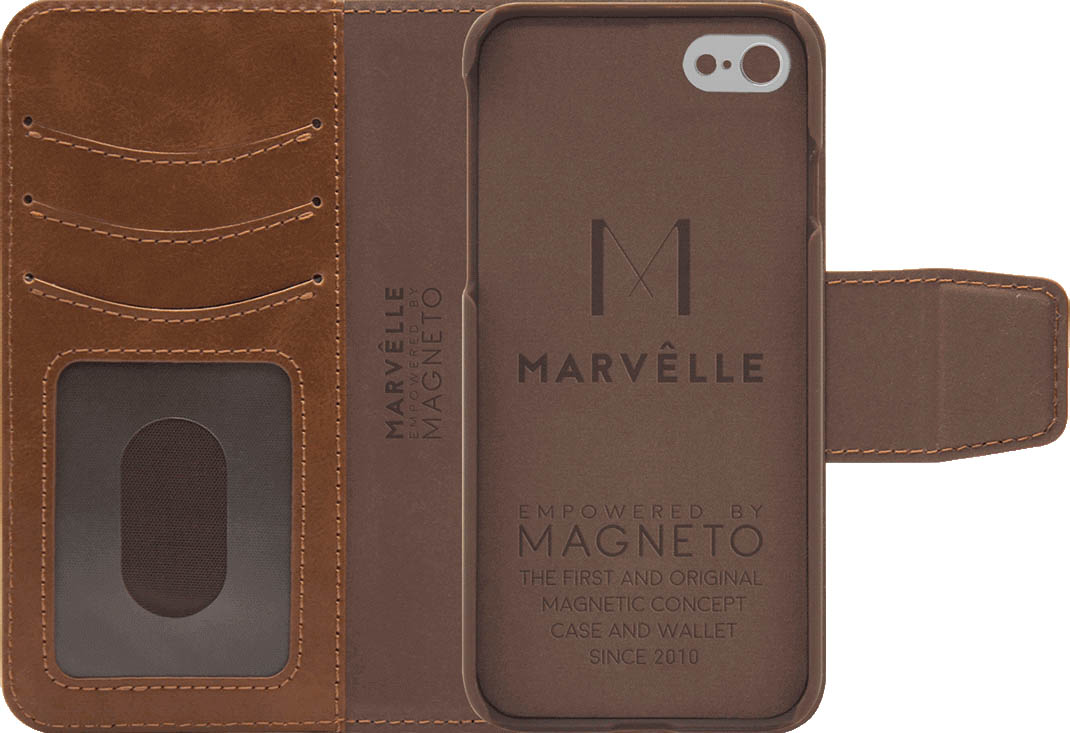 Чехол Marvelle N°301 для iPhone 6/6S/7/8 (Oak Light Brown)