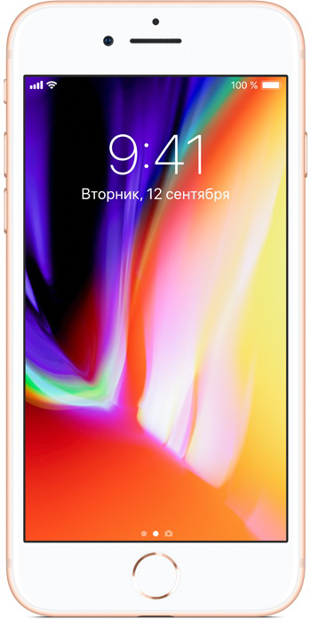 iPhone 8 64Gb Gold экран