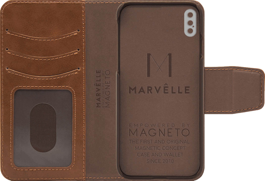 Чехол Marvelle N°301 для iPhone X/Xs (Oak Light Brown)