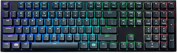 Купить Клавиатура Cooler Master MasterKeys Pro L (SGK-6020-KKCR1-RU) RGB Cherry MX Red (Black)