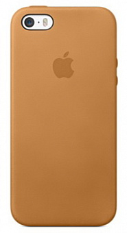 Apple iPhone 5S Leather Case (MF041ZM/A) - чехол для iPhone 5S (Brown)