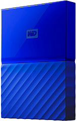 "Купить Внешний жесткий диск Western Digital My Passport 2.5"" USB 3.0 2Tb HDD WDBLHR0020BBL-EEUE (Blue)"
