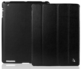 Купить Чехол Jison Smart Leather Case для iPad 2/3/4 (Black)