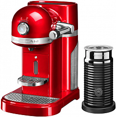 Купить Капсульная кофемашина KitchenAid Artisan Nespresso & Aeroccino 5KES0504EER (Empire Red)