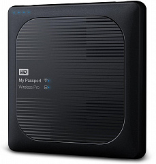 "Купить Внешний накопитель Western Digital My Passport Wireless Pro 2.5"" USB 3.0 3Tb WDBSMT0030BBK-RESN (Black)"