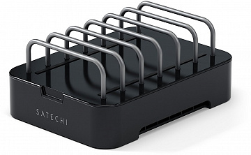 Купить Подставка Satechi 6-Port Customizable Media Organizer без ЗУ (Black)