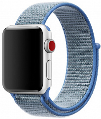 Купить Ремешок COTEetCI W17 Magic Tape (WH5225-HL) для Apple Watch Series 2/3/4 38/40mm (Blue)