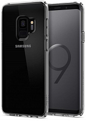 Купить Чехол Spigen Ultra Hybrid (592CS22836) для Samsung Galaxy S9 (Crystal Clear)