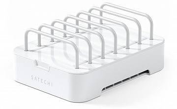 Купить Подставка Satechi 6-Port Customizable Media Organizer без ЗУ (White)