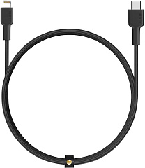 Купить Кабель для iPod, iPhone, iPad Aukey Braided Nylon (CB-CL1) USB-C to Lightning 1.2m (Black)