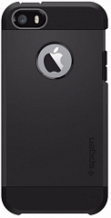 Купить Чехол Spigen Tough Armor (041CS20189) для iPhone 5/5S/SE (Black)