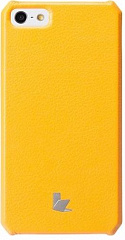Купить Чехол-накладка Jison Fashion Wallet (JS-IP5-01H80) для iPhone 5/5S/SE (Yellow)