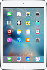 Купить Планшет Apple iPad mini 4 128Gb Wi-Fi+Cellular MK772RU/A (Silver)