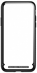 Купить Чехол Baseus See-through Glass Protective Case для iPhone X (Black)