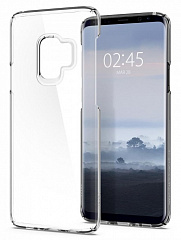 Купить Чехол Spigen Thin Fit (592CS22874) для Samsung Galaxy S9 (Crystal Clear)
