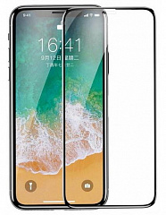 Купить Защитное стекло Baseus 4D Tempered Glass Film (SGAPIPHX-KE01) для iPhone X (Black)