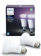 Купить Умные лампы Philips Hue White and Color Ambiance E27 (734673T) 2шт.