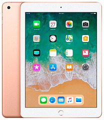 Купить Планшет Apple iPad 9.7'' 128Gb Wi-Fi+Cellular 2018 MRM22RU/A (Gold)