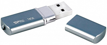 Купить USB-накопитель Silicon Power Luxmini 720 16GB SP016GBUF2720V1D (Deep Blue)