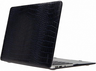Купить Чехол Heddy Leather Hardshell (HD-N-A-15-01-04) для MacBook Pro 15'' Retina (Croco Dark Blue)