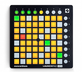 Купить MIDI-контроллер Novation Launchpad mini MK2 (Black)