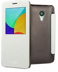 Купить Чехол Mofi Genuine Leather Series Slim Case Flip Cover для Meizu MX4 Pro (White)
