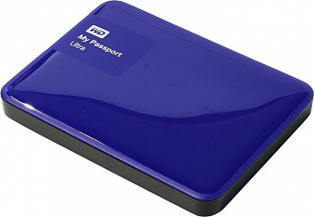 Купить Внешний жесткий диск Western Digital My Passport Ultra 500Gb USB 3.0 WDBBRL5000ABL-EEUE (Blue)