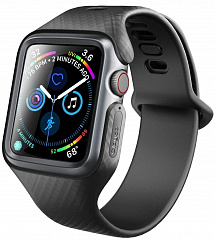 Купить Чехол-ремешок Clayco Hera Series для Apple Watch Series 4 44mm (Black)