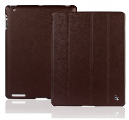 Купить Jison Smart Leather Case - чехол для iPad 2/iPad 3/iPad 4 (Brown)