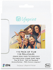 Купить Фотобумага Lifeprint Photo Paper Sticky Back 110 Pack