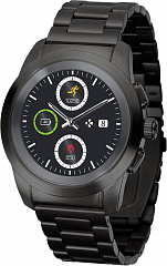 Купить Умные часы MyKronoz ZeTime Elite Regular (Brushed Black/Metal Link)