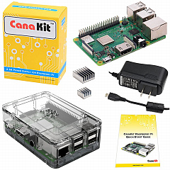 Купить Набор CanaKit Raspberry Pi 3 B+ with Case and Power Supply