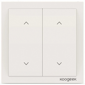 Умный выключатель Koogeek Dimmer Switch DM02CN для Apple Homekit (White)
