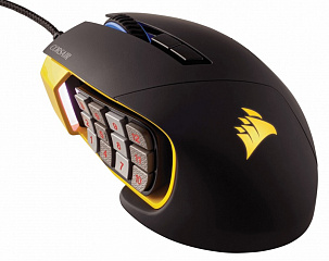 Купить Игровая мышь Corsair Scimitar PRO RGB CH-9304011-EU (Yellow)