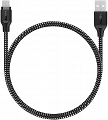 Купить Кабель Aukey Braided Nylon (CB-AM1) microUSB to USB-A 1.2m (Black)
