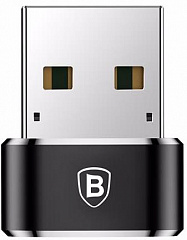 Купить Переходник Baseus USB-C/USB Adapter CAAOTG-01 (Black)