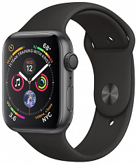Купить Умные часы Apple Watch Series 4 44 mm (Space Grey/Black)