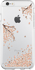 Купить Чехол-накладка Spigen Liquid Crystal (035CS21219) для iPhone 6/6s (Shine Blossom)