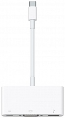 Купить Адаптер Apple USB-C VGA Multiport (MJ1L2ZM/A)