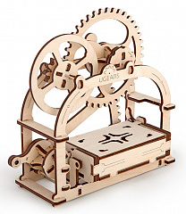 Купить 3D-пазл UGears Mechanical Box (70001)
