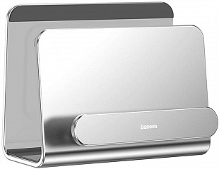Купить Держатель Baseus Wall-mounted Metal Holder SUBG-0S (Silver)