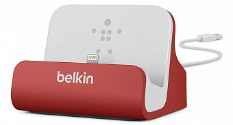 Belkin Charge + Sync Dock (F8J045btRED) - док-станция для iPhone и iPod (Red)