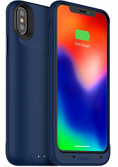 Купить Чехол Mophie Juice Pack Air для iPhone X (Blue)