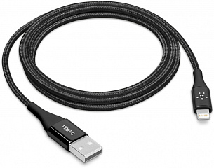 Купить Кабель для iPod, iPhone, iPad Belkin Mixit DuraTek USB-Lightning 1.2 m (Black)
